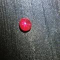 1.27ct星光红宝石,鸽血红色