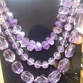 纯紫晶石长链合人民币300不知贵不贵,坛友们给个参考其它顺便拍了
