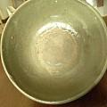 宋代哥窑粗瓷大碗还有俩瓷片一个是明代一个是日本瓷