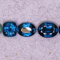 蓝晶石刻面以及颜色范围