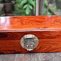 首饰盒珠宝盒 高逼格收纳盒。 纹理漂亮哦。