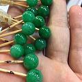 辣色珠珠,棒棒糖 辣绿色的应该是什么口味的呢