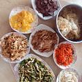 圣诞大餐,台州特色,哈哈,跟妈妈弄了一天,成品还没出来,菜弄好了,等下上传成品