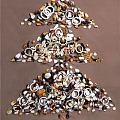 土豪的圣诞树,这一堆得多少钱啊😱😂