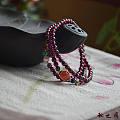 紫石榴石 非巴西背光下还是有点美