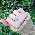 小清新爱心戒指