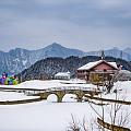 西岭雪山-花水湾温泉小镇