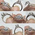 一些镶嵌过的钻石款式,大家可以借鉴一下