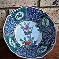 日本九谷珐琅彩瓷碗