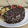 一个有生命气息的不太黑的黑森林蛋糕