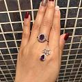 最近大爱紫色,还缺个大点的耳环
