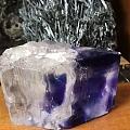 这蓝色又透明的水晶叫什么