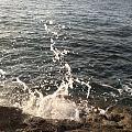"""前几天在海边捡的所谓的""""冰翠""""~ ★真身为玻璃★"""