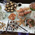 海鲜盛宴我最爱图9的三文鱼骨🤗,你们呢😹