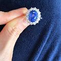 壇友推薦款式藍寶鑲嵌完工,坐等收貨。