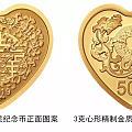 这次央行发行的心形币和猫币还不错也