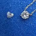 一波三折钻石锁骨链