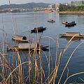 千岛湖晚霞景色还蛮好的,周末休闲好去处,散心散心