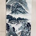溪山行旅图 己亥年夏文石作。