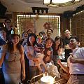 在大陸第一次過生日 很開心身邊有家人朋友的陪伴