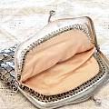 收了一个老银的小钱包包