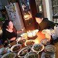 老婆生日快乐 近二年内第一个生日聚会,尽可能地全部自己掌勺烹饪,朋友阿强是特...