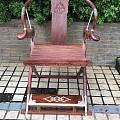 被称为天下第一的海南黄花梨交椅为什么会用白铜镶嵌装饰?