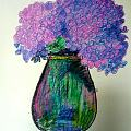即兴,画了一幅夏日之花~