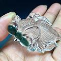 绿色小金鱼