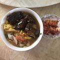 中午,西红柿鸡蛋牛肉面