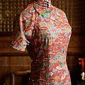 一家真心觉得不错的旗袍店,全手工制。可惜是在成都,看他的微博,简直是美的享受!