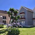 彩色条纹小房子