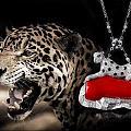 珊瑚豹子项链