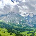 阿尔卑斯山,绝对当得起巍峨两字