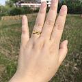 蝴蝶结金戒指