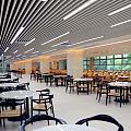 孩子学校的饭堂