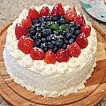第一次做草莓奶油蛋糕