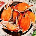 海边人的周末,螃蟹必须论盆吃