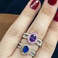紫蓝宝,矢车菊,地铁上水一帖