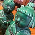 绿釉陶瓷公仔,《哥倆好》