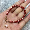珊瑚和珍珠的搭配真的是太赞了!!