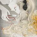 我喜欢的画家罗寒蕾。