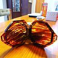 玳瑁纹六角扁盒