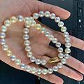 Akoya珍珠糖果项链
