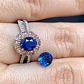 明年适合带蓝,入了两块蓝宝!