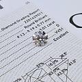 圆钻 3.01 DVVS1 3EX N GIA高颜色、高净度、完美切工