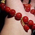 南红珠串皇后之玫瑰红