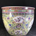 景德镇十大瓷厂 艺术瓷厂美研室 重工粉彩手绘开窗 人物仕女 将军罐