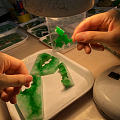 翡翠满绿珠子