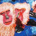 《泡温泉的猴子》🐒